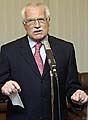 Prezident Vclav Klaus, foto: TK