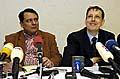 Jiri Paroubek und Stanislav Gross (Foto: CTK)