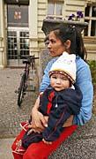 Vystěhovaní Romové (Foto: ČTK)