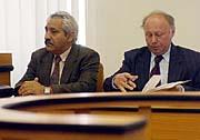 Ondřej Giňa u soudu (Foto: ČTK)