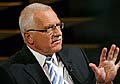 Le prsident Vaclav Klaus, photo: CTK
