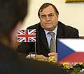 Der britische Vizepremier John Prescott in Prag (Foto: CTK)
