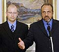 Bohuslav Sobotka und Michal Kraus (Foto: CTK)