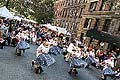 Street Party à New York, photo: CTK