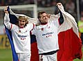 Pavel Nedved et Vladimir Smicer, photo: CTK