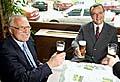 Präsident Vaclav Klaus und Miroslav Kalousek, der Vorsitzende der Christdemokraten (Foto: CTK)