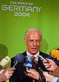 Franz Beckenbauer in Prag (Foto: CTK)