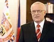 Neujahrsansprache des tschechischen Präsidenten Vaclav Klaus (Foto: CTK)