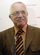 President Vaclav Klaus, photo: CTK