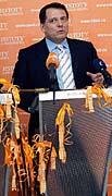 Prime Minister Jiri Paroubek, photo: CTK