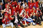 CSKA Moskva zvítězil ve finále Evropské ligy basketbalistů, foto: ČTK
