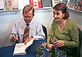 Vaclav Havel et l'actrice Eva Holubova, photo: CTK