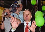 Martin Bursík, předseda Strany zelených, foto: ČTK
