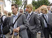 Tomas Sivok, Radoslav Kovac and Pavel Nedved
