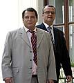 Jiri Paroubek und Miroslav Kalousek (v.l.n.r., Foto: CTK)