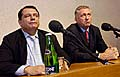 Ji Paroubek a Mirek Topolnek, foto: TK