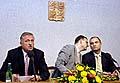 Mirek Topolanek (links, Foto: CTK)