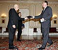 Vaclav Klaus et Mirek Topolanek, photo: CTK