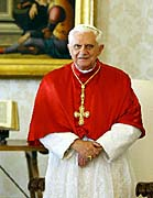 Pape Benedikt XVI., foto: TK