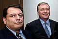 Jiří Paroubek (vlevo) a Mirek Topolánek, foto: ČTK