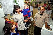 Vystěhovaná rodina Tulejových (Foto: ČTK)