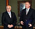 Vaclav Klaus mit Mirek Topolanek (Foto: CTK)