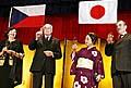 Präsident Vaclav Klaus in Japan (Foto: CTK)