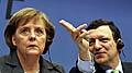 Angela Merkel mit Jose Barroso (Foto: CTK)
