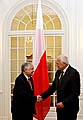 Lech Kaczynski et Vaclav Klaus, photo: CTK