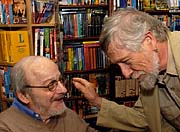 Edgar Lawrence Doctorow et Gary Snyder, photo: CTK