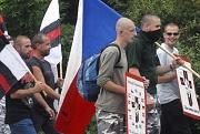Demonstrace ultrapravicových nacionalistů v Havířově (Foto: ČTK)
