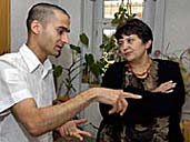 Radoslav 'Gipsy' Banga and Dzamila Stehlikova, photo: CTK