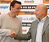 Vladimir Smicer (links) mit Karel Jarolim (Foto: CTK)