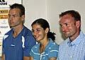 Von links: Tomas Janku, Katerina Badurova und Tomas Dvorak (Foto: CTK)