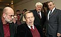 Jan Ruml, Vaclav Havel, Petr Pithart, Vilem Precan, photo: CTK