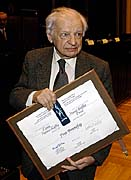 Yves Bonnefoy, photo: CTK