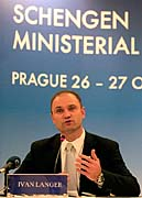 Interior Minister Ivan Langer, photo: CTK