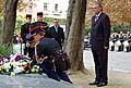 Mirek Topolanek au cimetière du Père-Lachaise, photo: CTK