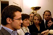 Zprava: Martin Bursk, Kateina Jacques, Olga Zubov a&nbsp;Ondej Lika, foto. TK