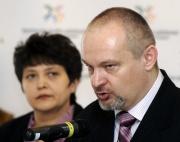 Ministryně Džamila Stehlíková a ředitel Marek Podlaha (Foto: ČTK)