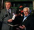 Mirek Topolánek et Milan Paumer, photo: CTK