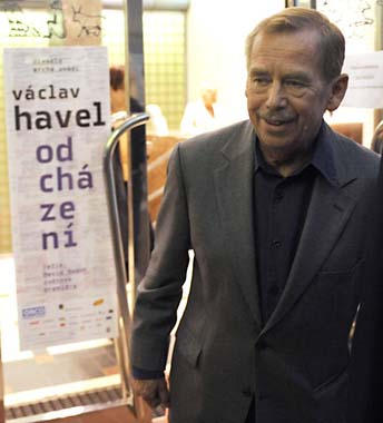 how far did vaclav havel s poltitical