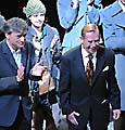 Václav Havel bei der Premiere seines neuen Stückes 'Der Abgang' (Foto: ČTK)
