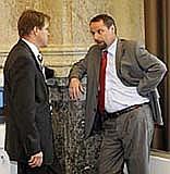 Martin Bursík (links) und Martin Říman (Foto: ČTK)