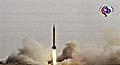Íránská raketová zkouška, foto: ČTK