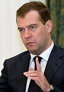 Ruský prezident Dimitrij Medvedev, foto: ČTK