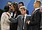 French Foreign Minister Bernard Kouchner, second right, gestures as U.S. Secretary of State Condoleezza Rice, left, talks with Greek counterpart Dora Bakoyannis, during an emergency NATO foreign minister meeting in Brussels, photo: CTK