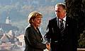 Angela Merkel und Mirek Topolánek (Foto: ČTK)
