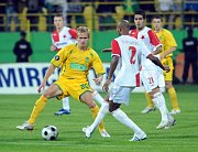 Slavia Prague - FC Vaslui, photo: CTK