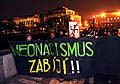 Demonstration gegen Rechtsextremismus (Foto: ČTK)